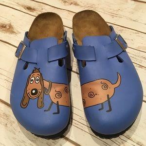 Birkenstock Dog Clogs Size 42